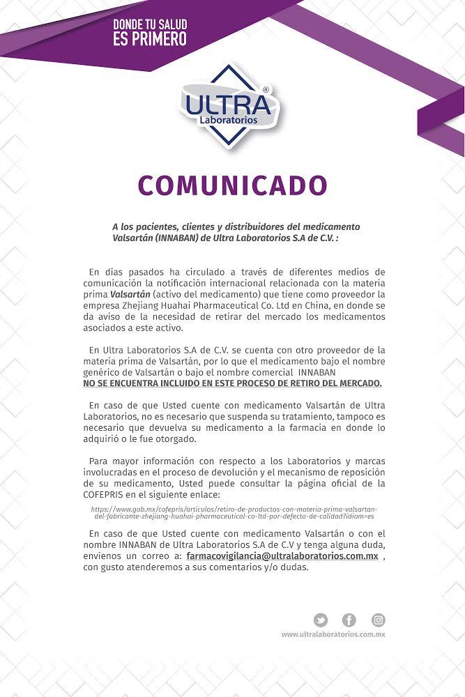 valsartan_comunicado_ultra_laboratorios
